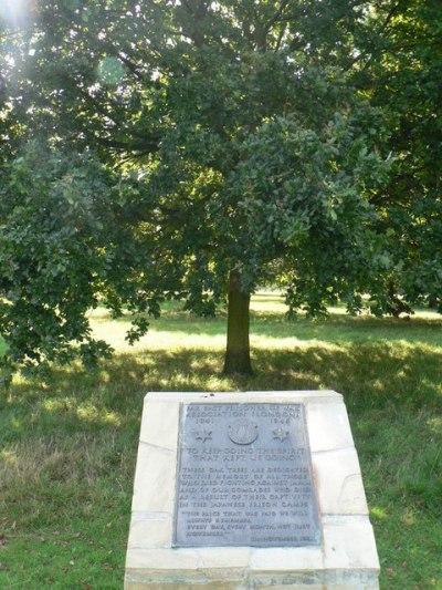 Memorial Trees Danson Park