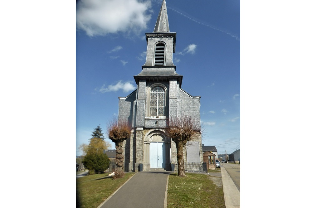 Gedenkplaat Kerk Bellefontaine