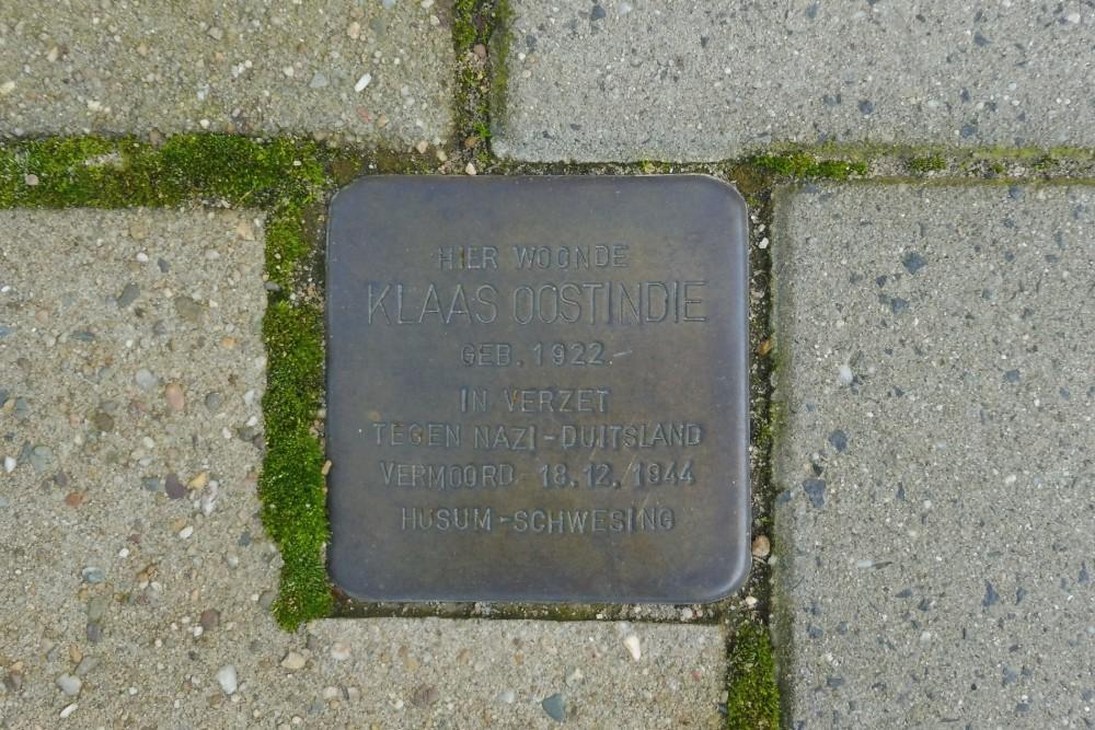 Stolperstein Schrassertstraat 29