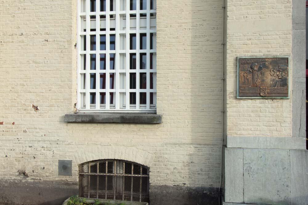 Gedenkplaat Politiek Gevangenen WOII Merksplas-Kolonie