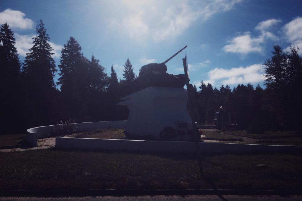 T-34 Tank Yaroslavl Weg
