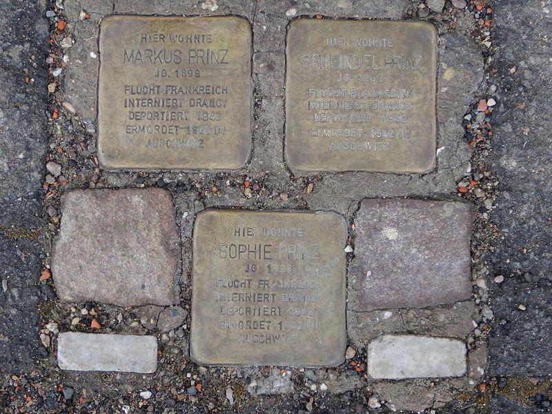 Stumbling Stones Mohrenstrasse 2