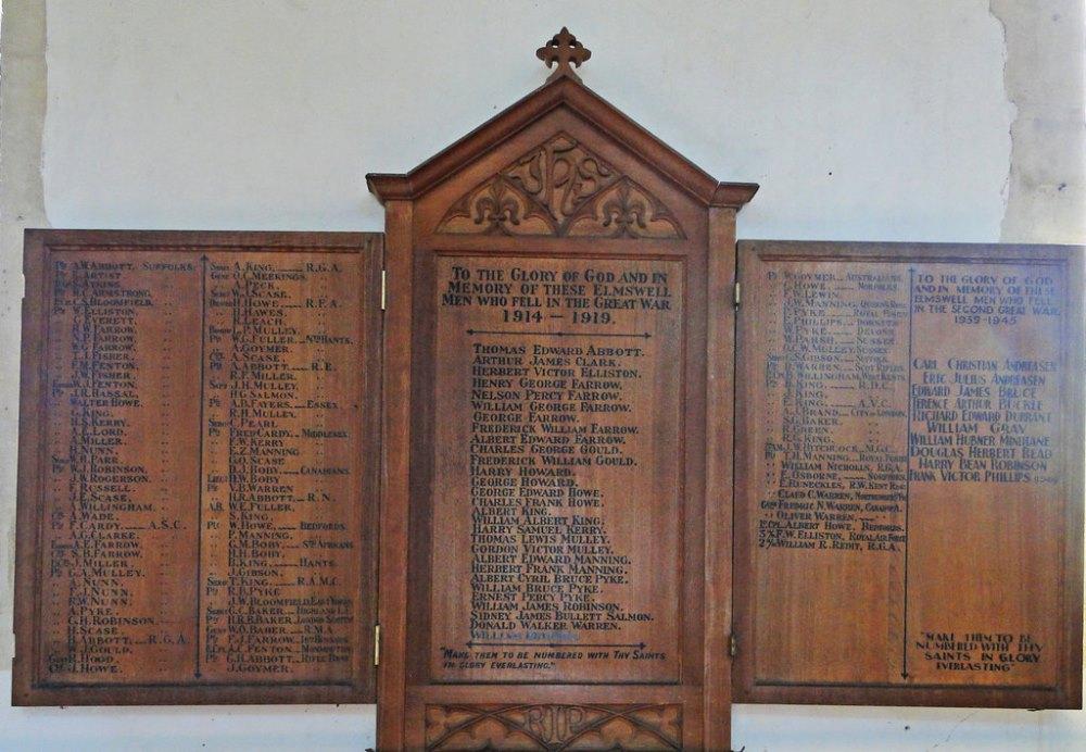 War Memorial Elmswell
