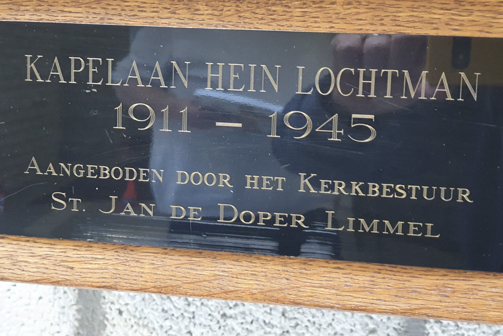 Memorial Chaplain Hein Lochtman