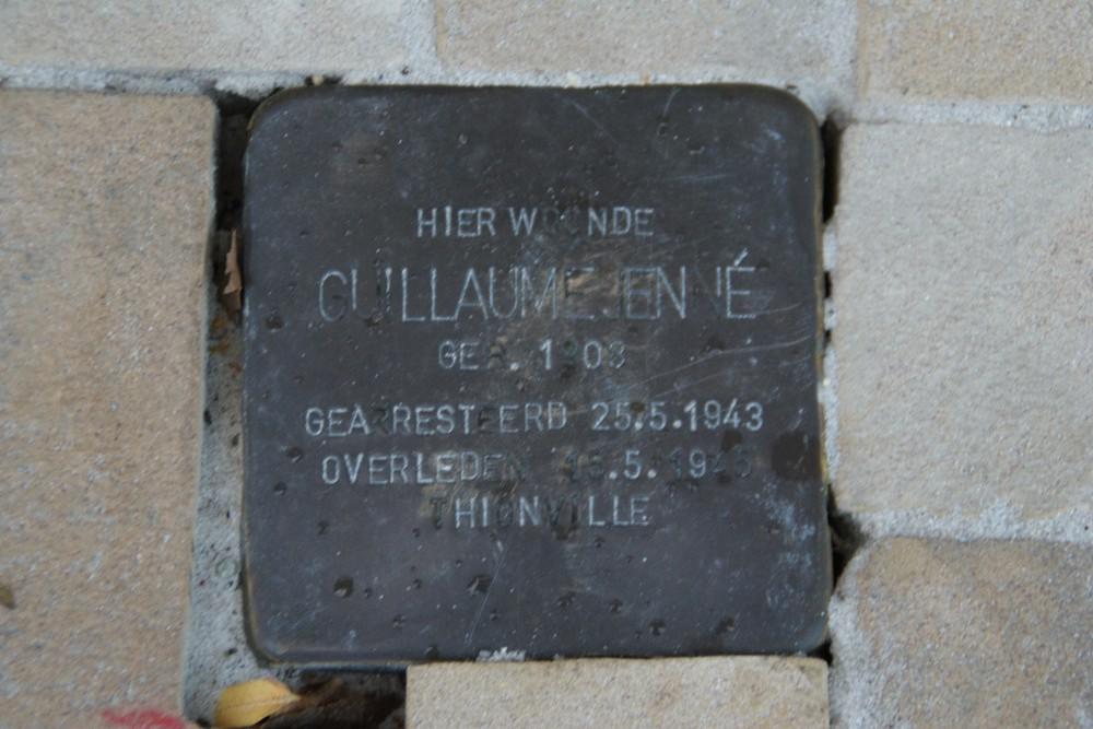 Stumbling Stone Slachthuisstraat 11