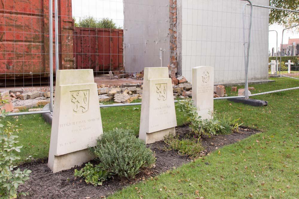 Czechoslovakian War Graves Communal Cemetery Veurne