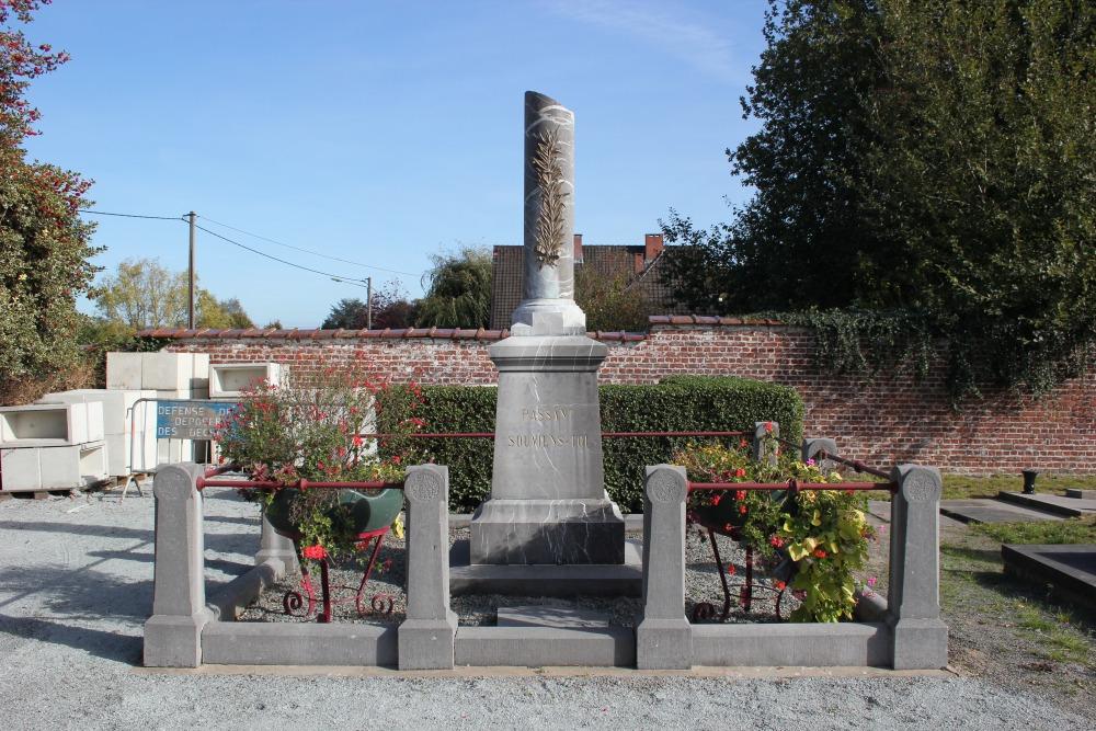 Monument Concentratiekampen Lessines