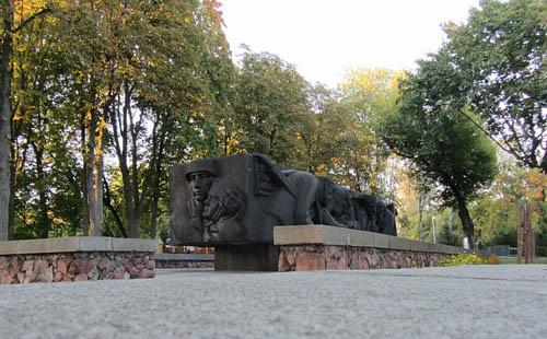 Mass Grave Soviet Soldiers Gomel