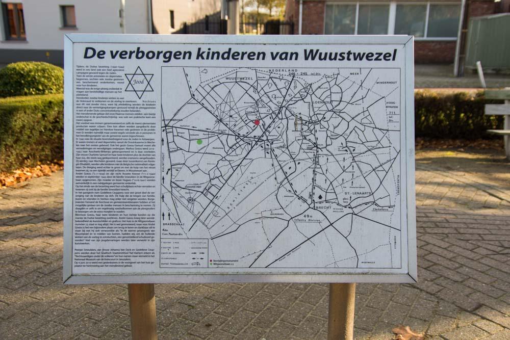 Informatiebord Joodse Slachtoffers Wuustwezel