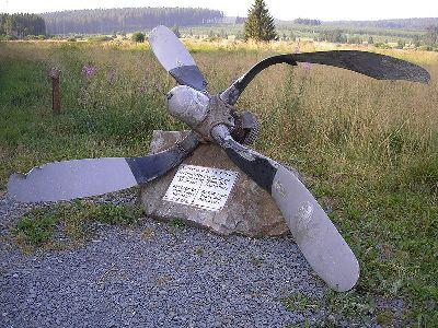 Monument Neergestort Vliegtuig