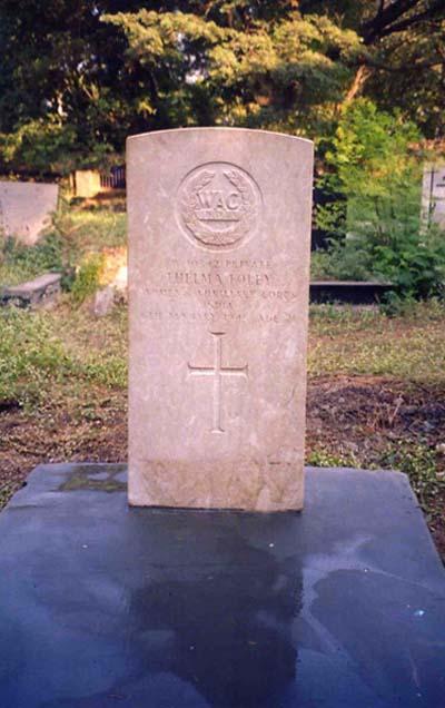 Commonwealth War Grave Sewri Cemetery