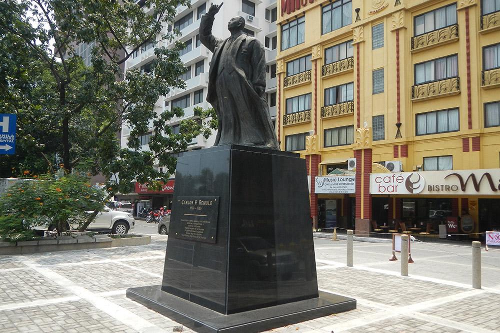 Carlos P. Romulo Monument