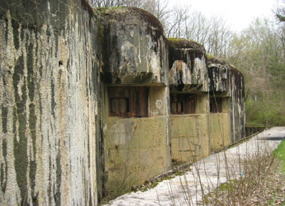 Maginot Line - Fort Latiremont