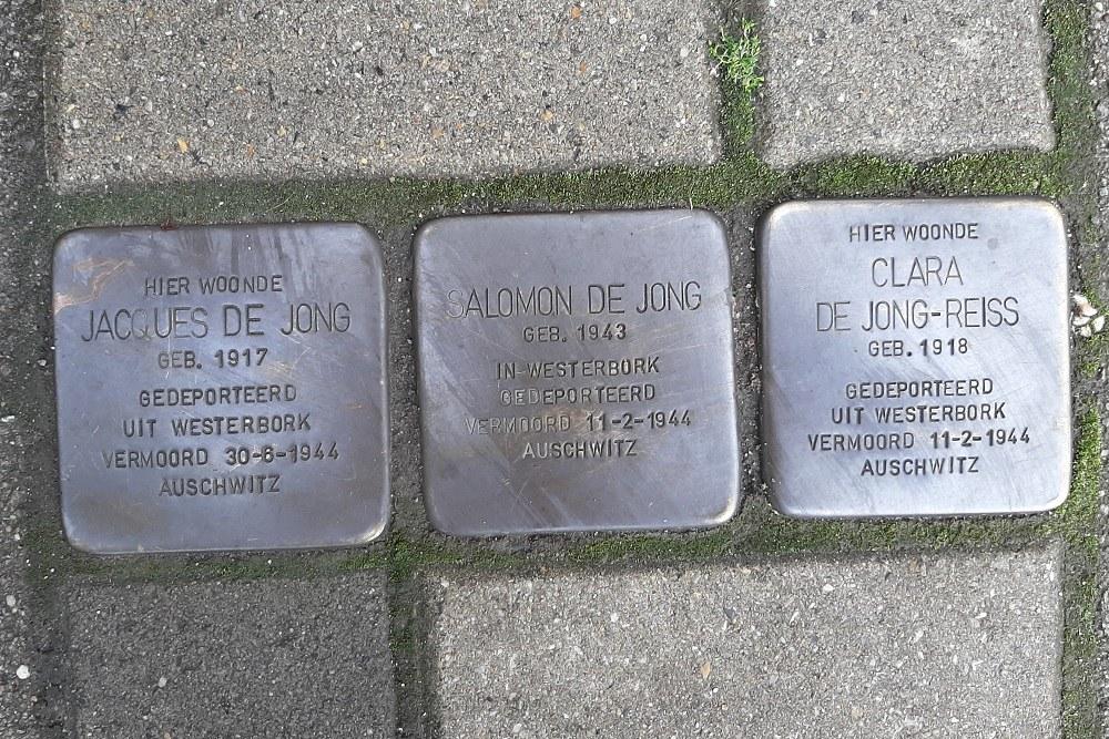 Stumbling Stones Sarphatistraat 155