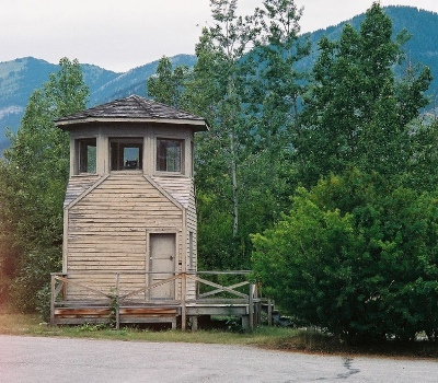 Watchtower POW-camp
