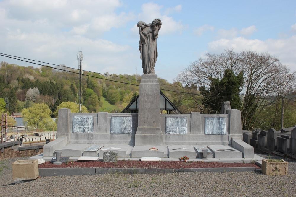 Oorlogsmonument Begraafplaats Pepinster