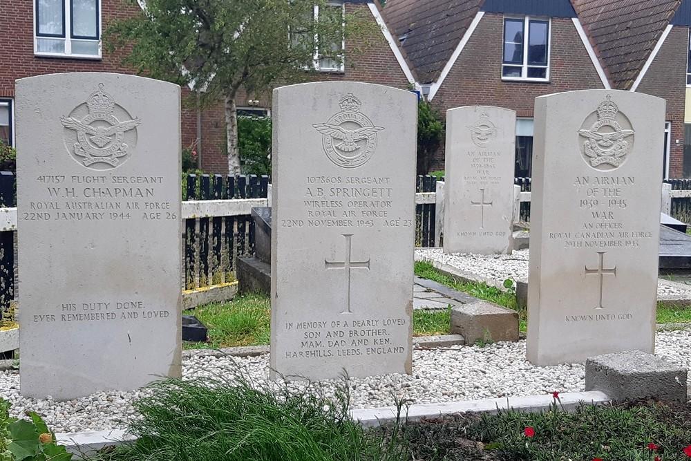 Oorlogsgraven van het Gemenebest Protestants Kerkhof Hindeloopen