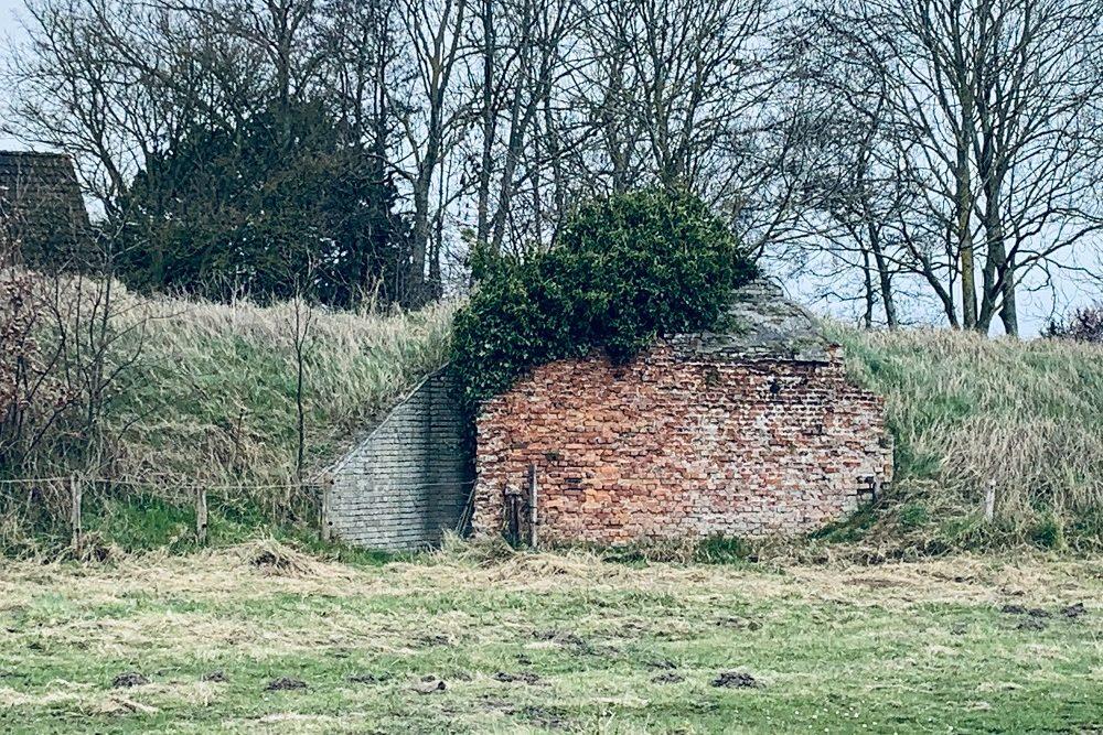 Duitse Bunker Type FA Munition Goedereede