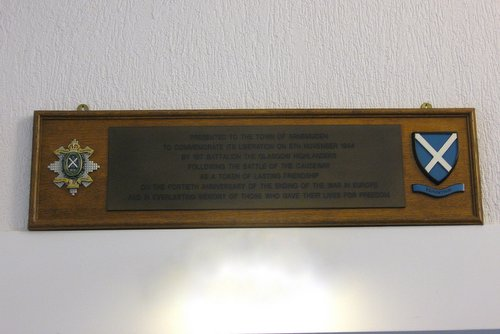 Plaques and Corps Emblems (RHC) Arnemuiden
