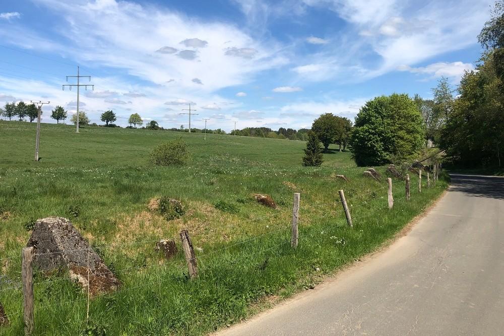 Anti-tank obstacles, Am Lutterbach, Imgenbroich
