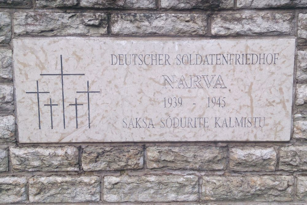 German War Cemetery Narwa / Narva
