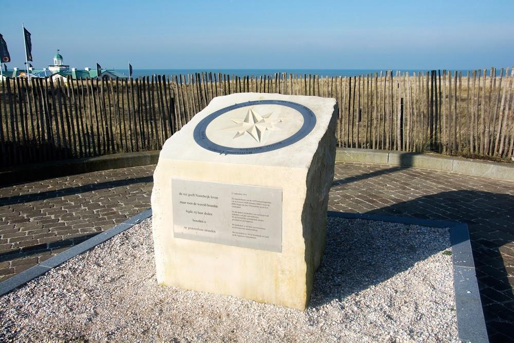 Monument Oorlogsslachtoffers op Zee Noordwijk