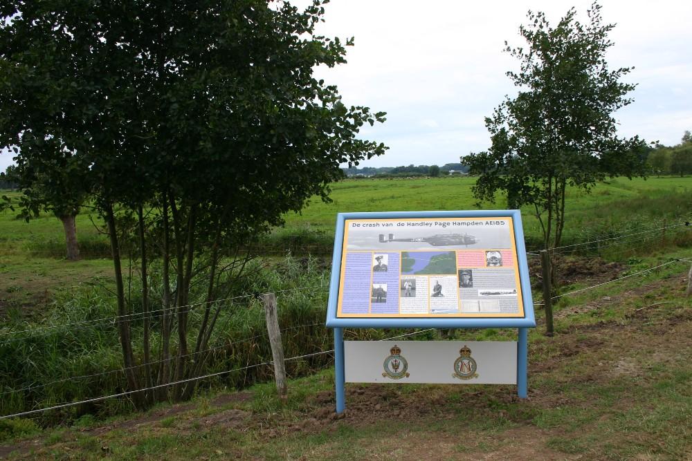 Memorial Crash Site Handley Page Hampden AE185