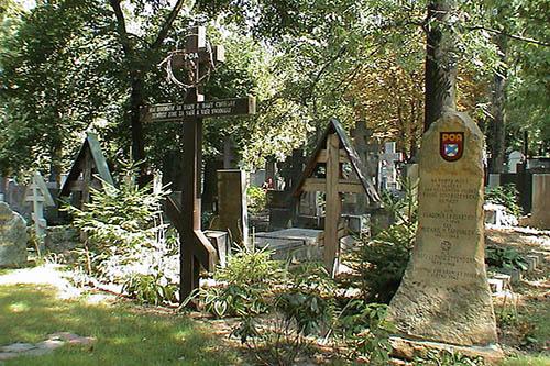 Russian Mass Grave ROA Prague