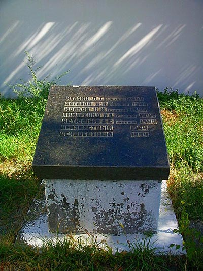 Mass Grave Soviet Soldiers Armenian Cemetery