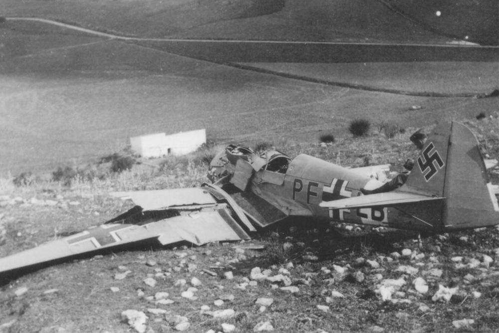 Crash Site Klemm Kl 35 (PF LB)