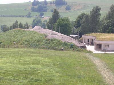 Benešovalinie - Artilleriekazemat N-S 75