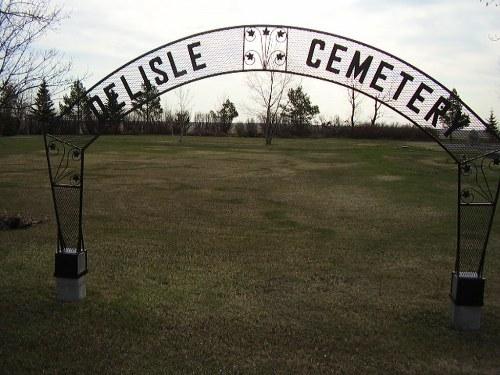 Commonwealth War Graves Delisle Municipal Cemetery