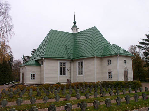 Finnish War Graves Virolahti