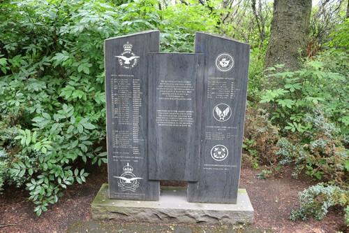 Monument Geallieerde vliegers Reykjavik