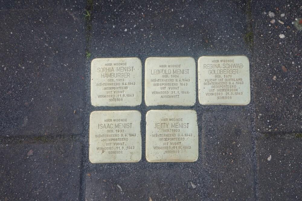 Stumbling Stones Maurits Prinsstraat 11