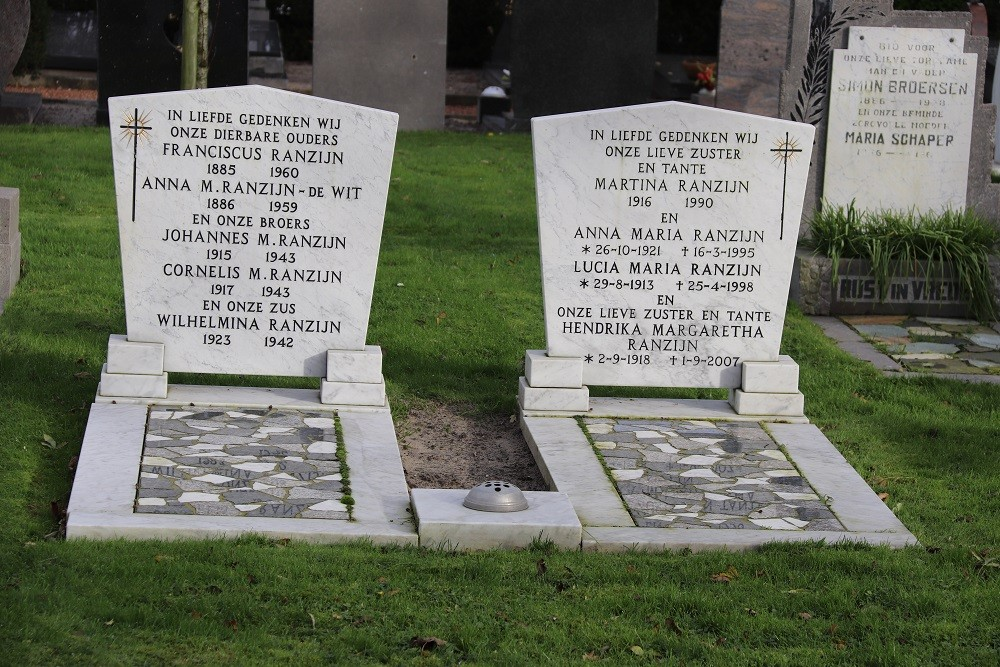 Dutch War Graves Roman Catholic Cemetery 't Zand