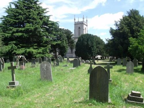 Commonwealth War Graves St. Matthew Churchyard