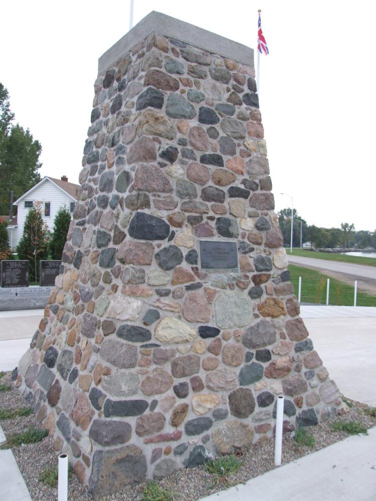 Graf van Chief Tecumseh