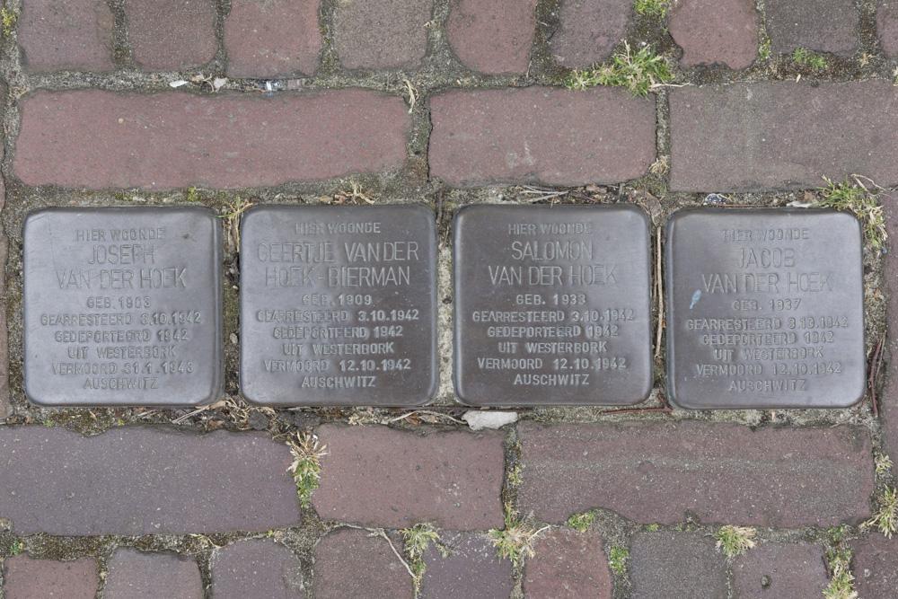 Stolpersteine Bouweind 5 (nu Doctor A.C. van Raaltestraat 5)