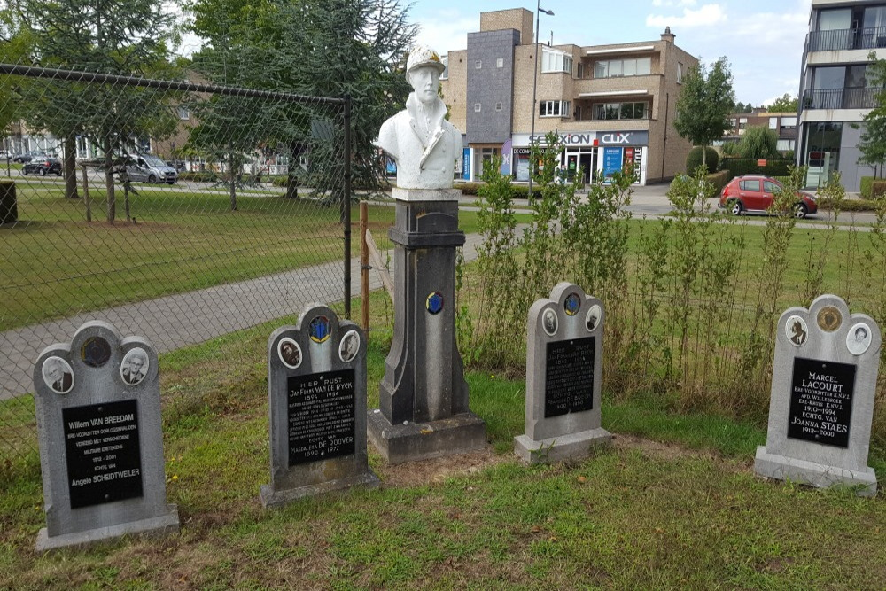 Memorial and Graves War Veterans Willebroek