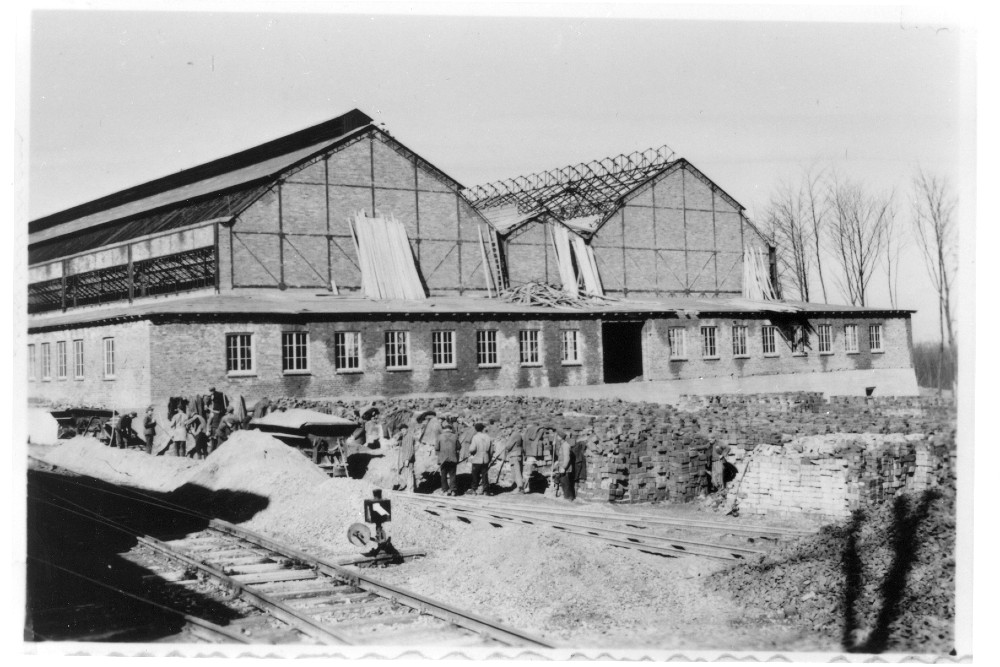 Armaments factory Gustloff-Werke ll Concentration Camp Buchenwald