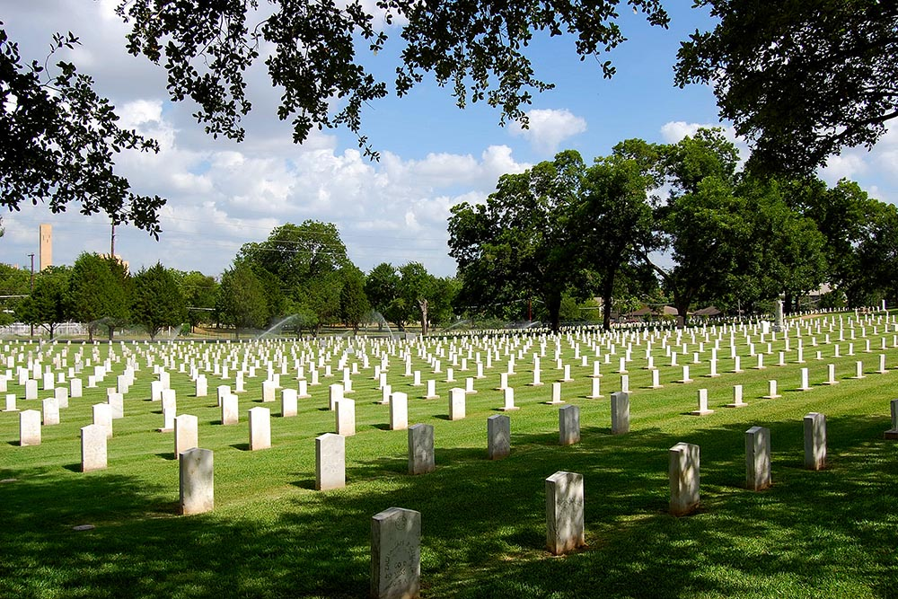 American War Graves Texas State Cemetery