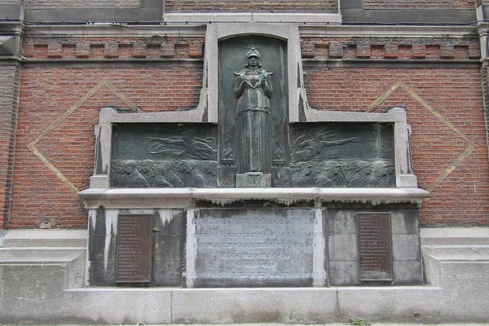 World War I Memorial Minerva-factory