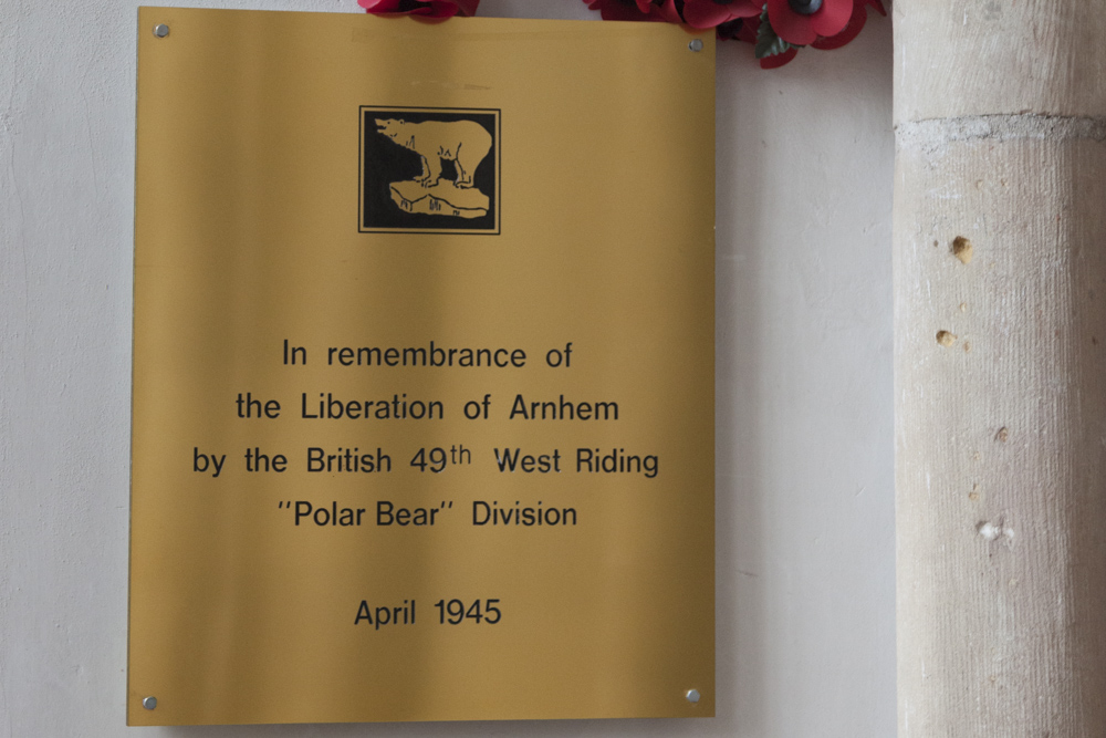 Bevrijdingsplaquette Arnhem
