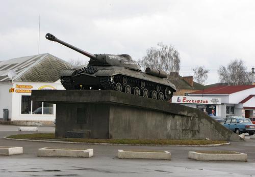 Bevrijdingsmonument (IS-3 Zware Tank) Myronivka