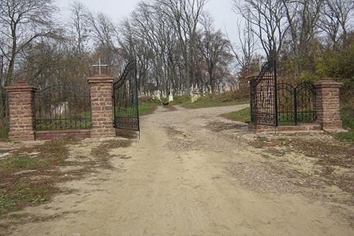 Mass Grave Soviet Soldiers Buchach