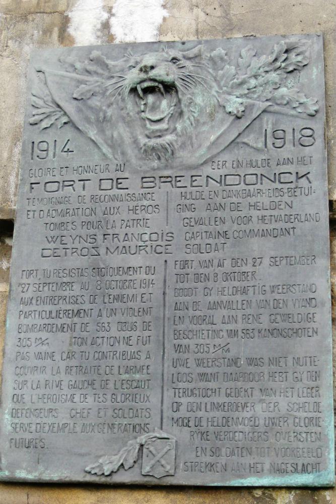 War Memorial Fort Breendonk