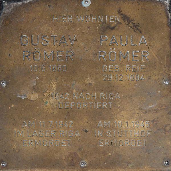Gedenksteen Seisgasse 18