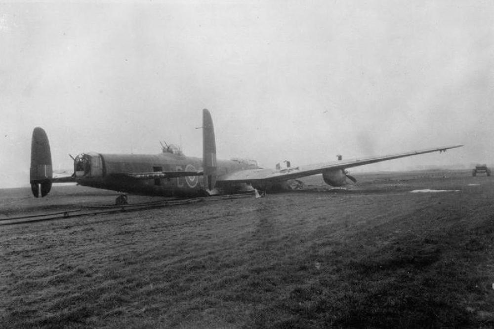 Cashlocatie Avro Lancaster B Mark I, ME590 'SR-C'