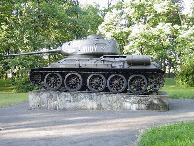 Bevrijdingsmonument (T-34/85 Tank) Grudziadz